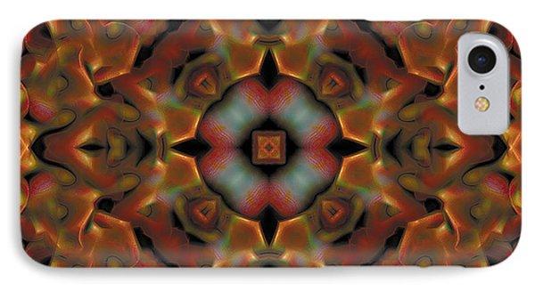 Mandala 119 Phone Case by Terry Reynoldson