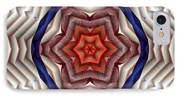 IPhone Case featuring the digital art Mandala 12 by Terry Reynoldson