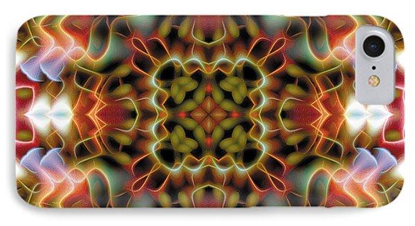 Mandala 120 IPhone Case by Terry Reynoldson