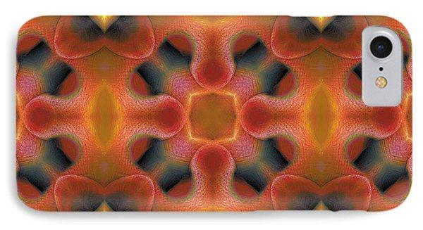 Mandala 124 IPhone Case by Terry Reynoldson