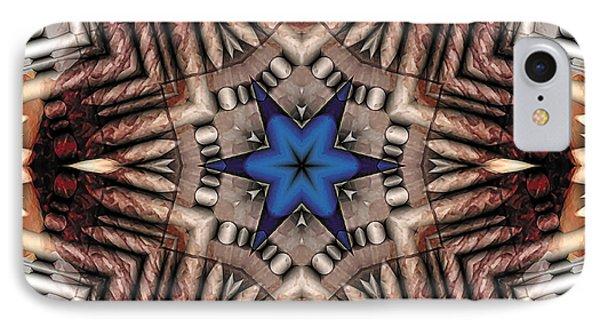 IPhone Case featuring the digital art Mandala 13 by Terry Reynoldson