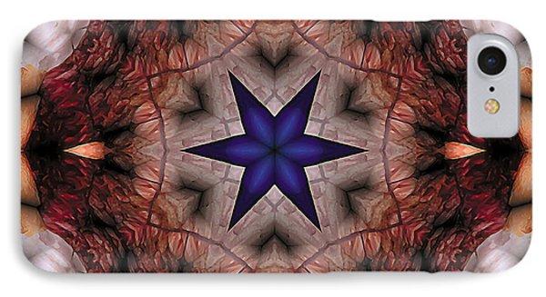 IPhone Case featuring the digital art Mandala 14 by Terry Reynoldson