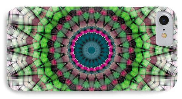 Mandala 26 Phone Case by Terry Reynoldson