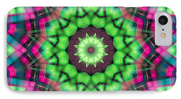 IPhone Case featuring the digital art Mandala 29 by Terry Reynoldson