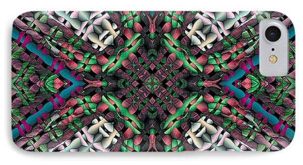 IPhone Case featuring the digital art Mandala 32 by Terry Reynoldson