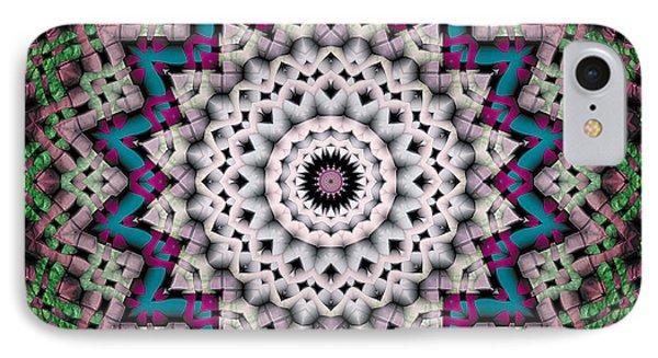 Mandala 37 IPhone Case by Terry Reynoldson