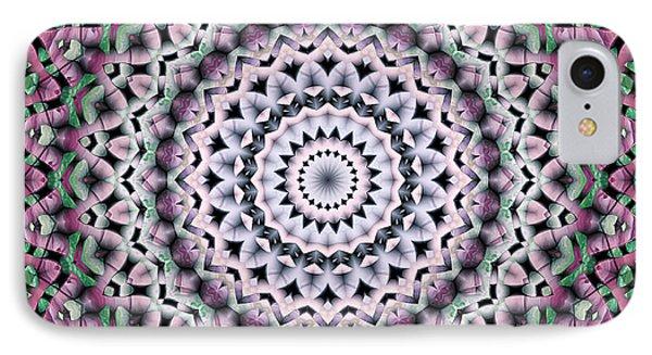 IPhone Case featuring the digital art Mandala 38 by Terry Reynoldson