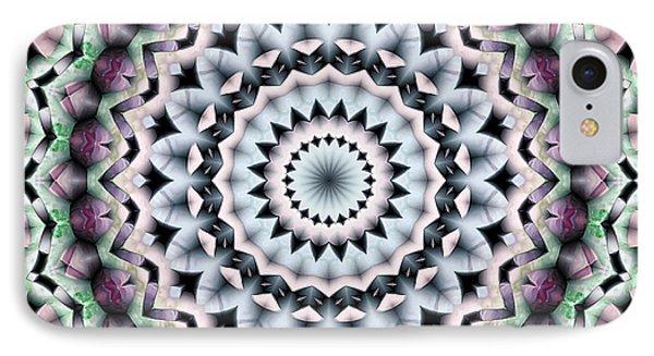 IPhone Case featuring the digital art Mandala 40 by Terry Reynoldson