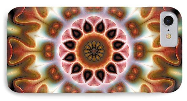 IPhone Case featuring the digital art Mandala 67 by Terry Reynoldson