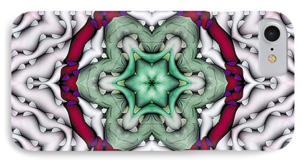 IPhone Case featuring the photograph Mandala 7 by Terry Reynoldson