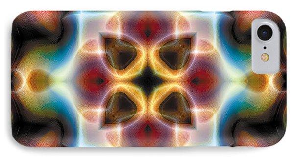 IPhone Case featuring the digital art Mandala 77 by Terry Reynoldson