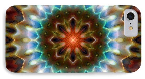 IPhone Case featuring the digital art Mandala 79 by Terry Reynoldson