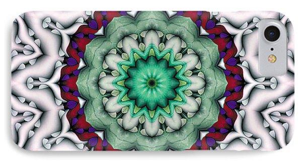 Mandala 8 Phone Case by Terry Reynoldson