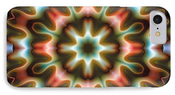 IPhone Case featuring the digital art Mandala 80 by Terry Reynoldson