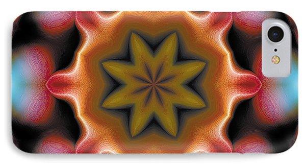 IPhone Case featuring the digital art Mandala 94 by Terry Reynoldson