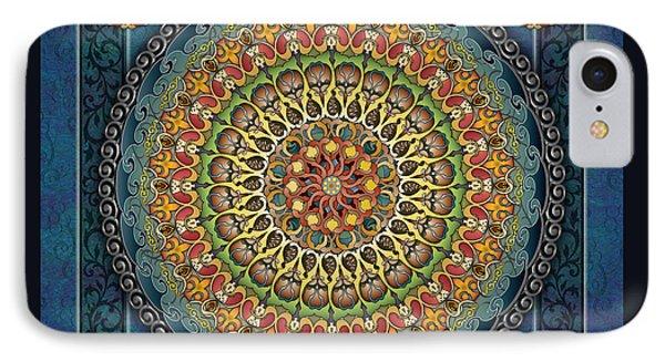 Mandala Fantasia Phone Case by Bedros Awak