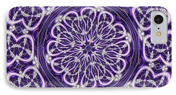 IPhone Case featuring the photograph Mandala by Linda Weinstock
