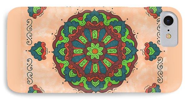 Mandala Love Phone Case by Susie WEBER