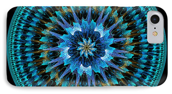 Mandala Of Peace IPhone Case by Martin Capek
