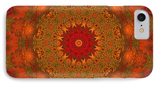 Mandala Of The Rising Sun - Spiritual Art By Giada Rossi IPhone Case