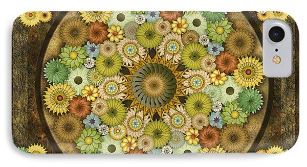 Mandala Stone Flowers Sp IPhone Case