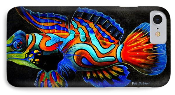 Mandarin Fish IPhone Case