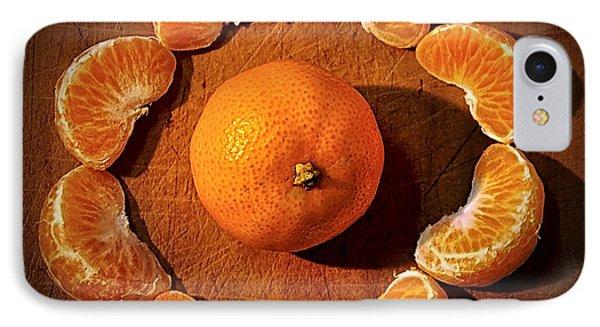 Mandarin - Vignette IPhone Case by Kaye Menner