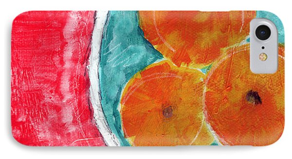 Mandarins IPhone Case by Linda Woods