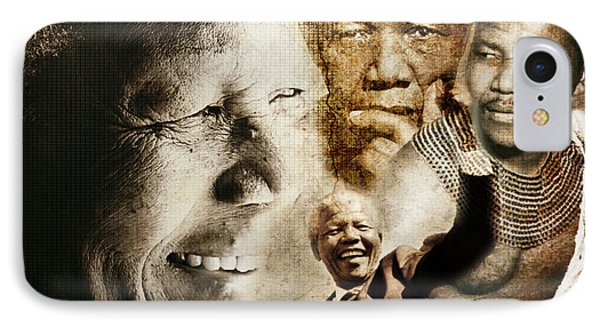 Mandela Journey IPhone Case by Lynda Payton