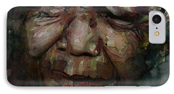 Mandela   IPhone Case by Paul Lovering