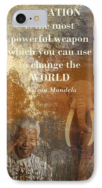 Mandela IPhone Case by Sharon Lisa Clarke