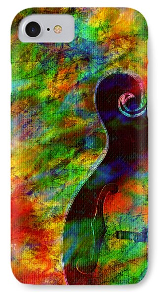 Mandolin Magic IPhone Case by Ally  White