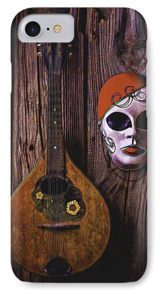 Mandolin Still Life IPhone Case by Garry Gay