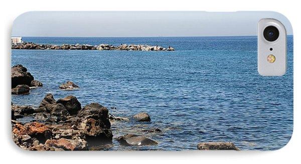 Mandraki Coastline Nisyros IPhone Case by David Fowler