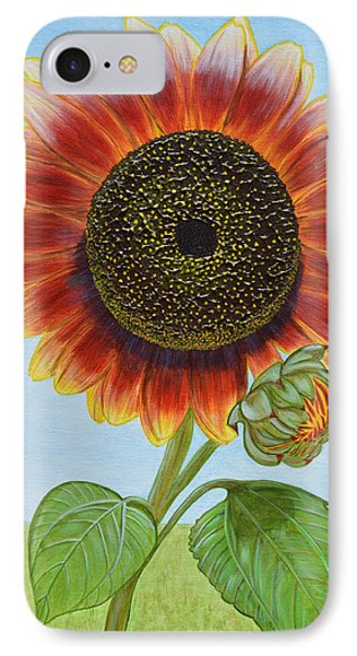 Mandy's Magnificent Sunflower IPhone Case