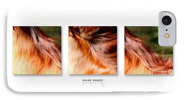 Mane Dance Triptych IPhone Case
