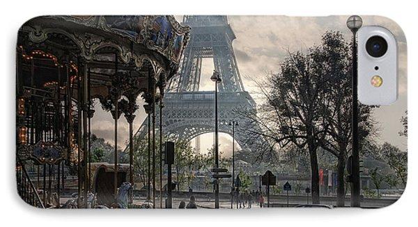 Manege Parisienne IPhone Case by Joachim G Pinkawa