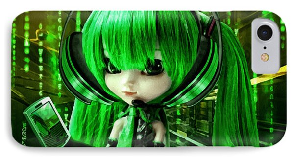 Manga Matrix IPhone Case