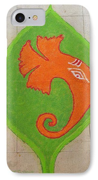 Mangalmurti Moraya IPhone Case by Sonali Gangane