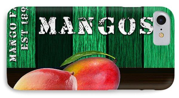 Mango Farm Sign IPhone Case by Marvin Blaine