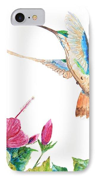 Mango Hummingbird IPhone Case by Patricia Beebe