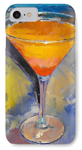 Mango Martini IPhone 7 Case by Michael Creese