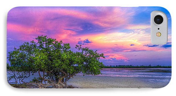 Mangrove By The Bay IPhone Case by Marvin Spates
