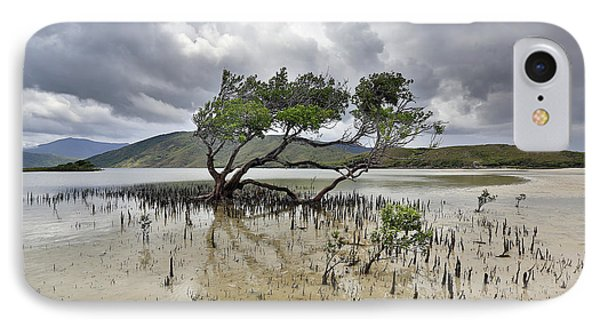 Far North Queensland iPhone 7 Case - Mangrove Tree by Peter Dore