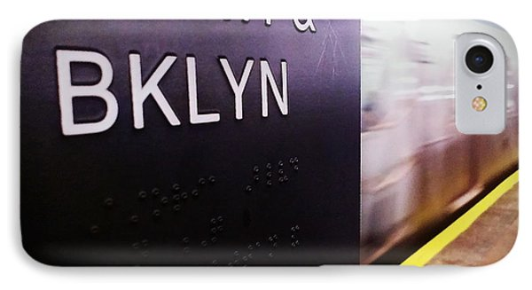 IPhone Case featuring the photograph Manhattan And Brooklyn by James Aiken
