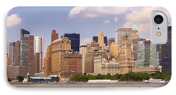 Manhattan And The Hudson River IPhone Case