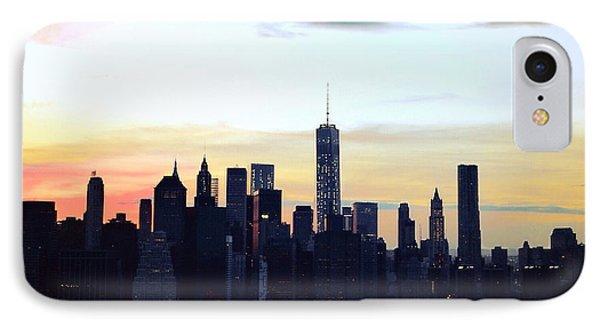 Manhattan At Dusk IPhone Case by Natasha Marco