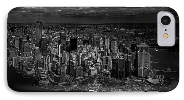 Manhattan - Bird's Eye View IPhone Case