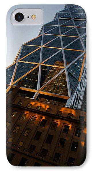 Manhattan Blues And Oranges IPhone Case