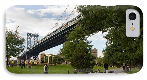Manhattan Bridge And Park IPhone Case
